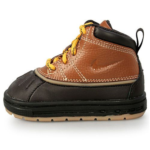 watch 89c73 ac661 ... MAX GOADOME BOYS BOOTS 311567-001 SELECT SIZE  NIKE WOODSIDE (TD)  TODDLER 415080-200 Tan Brown Acg Baby Boots Shoes US ...
