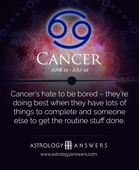 horoscope astrology free daily cancer