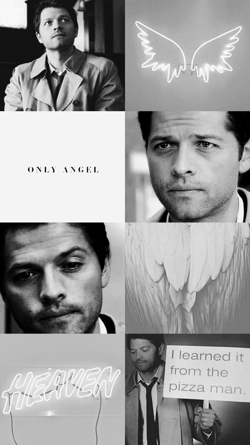 I Was Just Thinking Earlier That The World Needs More Castiel
