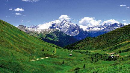 Monte Bondone - Berge im Trentino - Wandern, Italien,