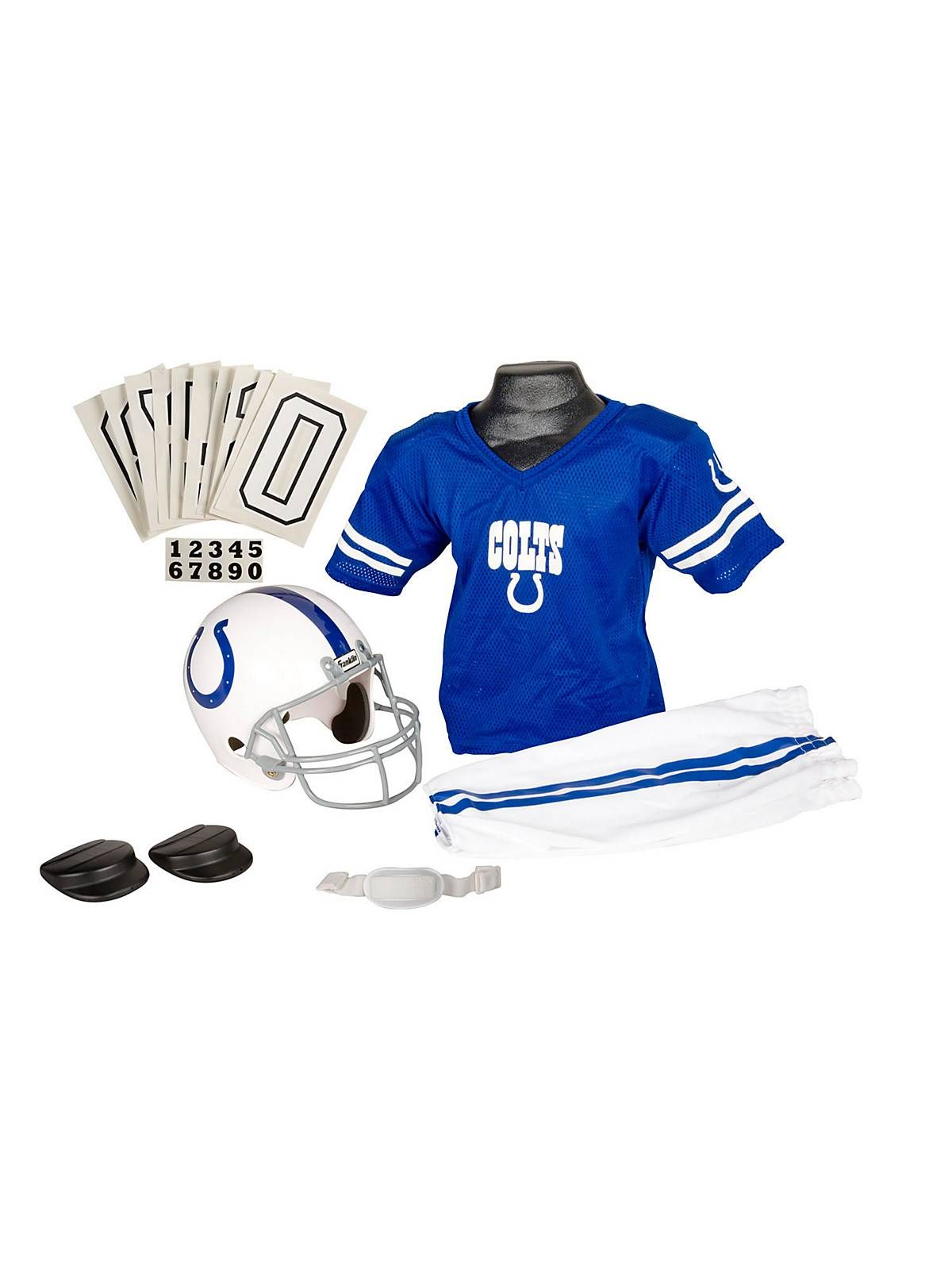 Childs NFL Colts Helmet and Uniform Set! See more football #costume accessories at CostumeSuperCenter.com!