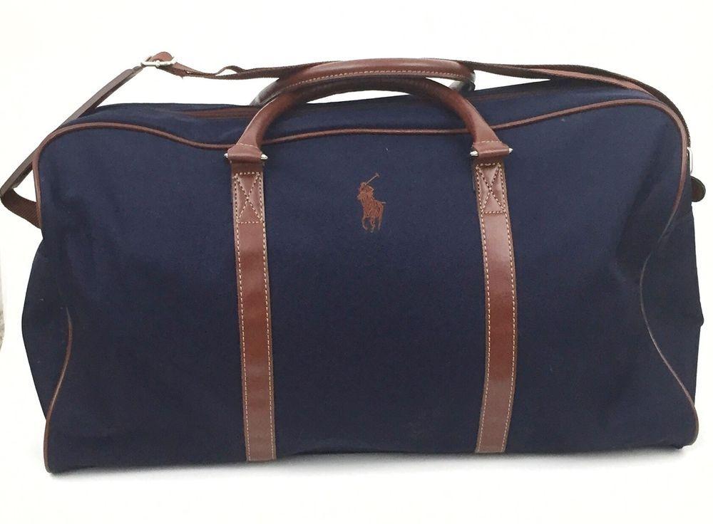 745edbfcb8d Ralph Lauren Duffle Travel Bag Men's Gym Bag Carry on 20x12x10