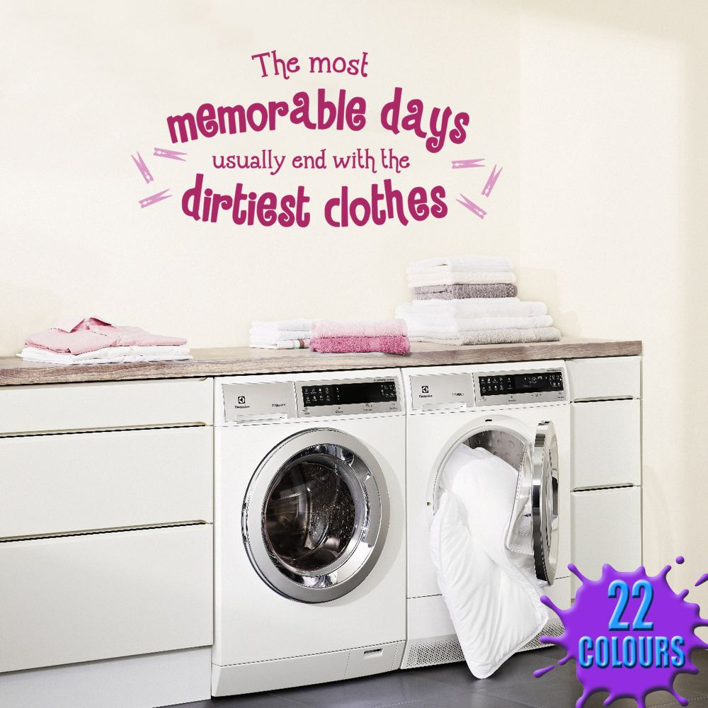 Laundry Room Wall Sayings Fair The Most Memorable Dayscute To Put In A Frame In Laundry Room Review