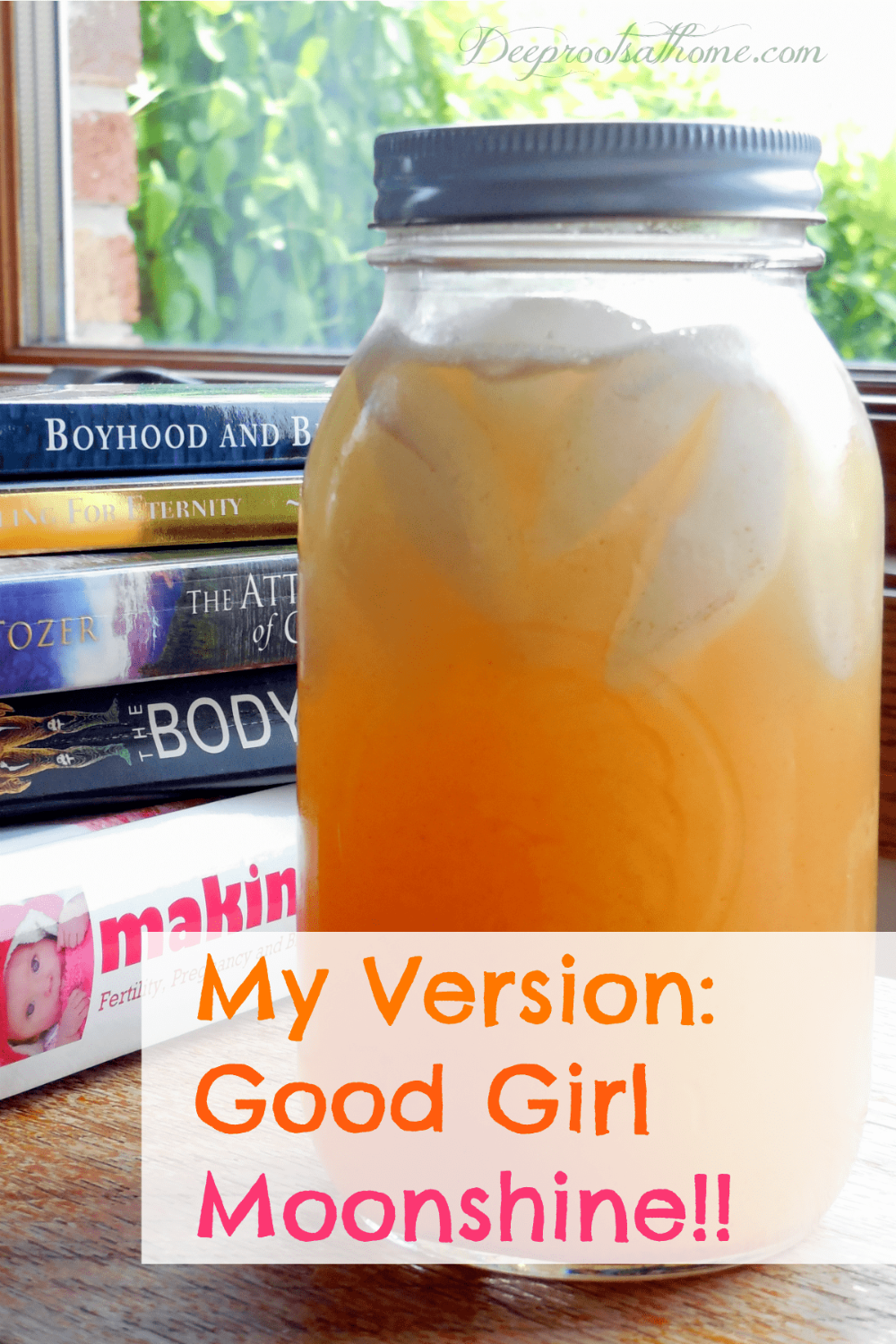 My Version ~ Good Girl Moonshine!, It does what it is supposed to do: 1.) I'm less hungry 2.) More s...
