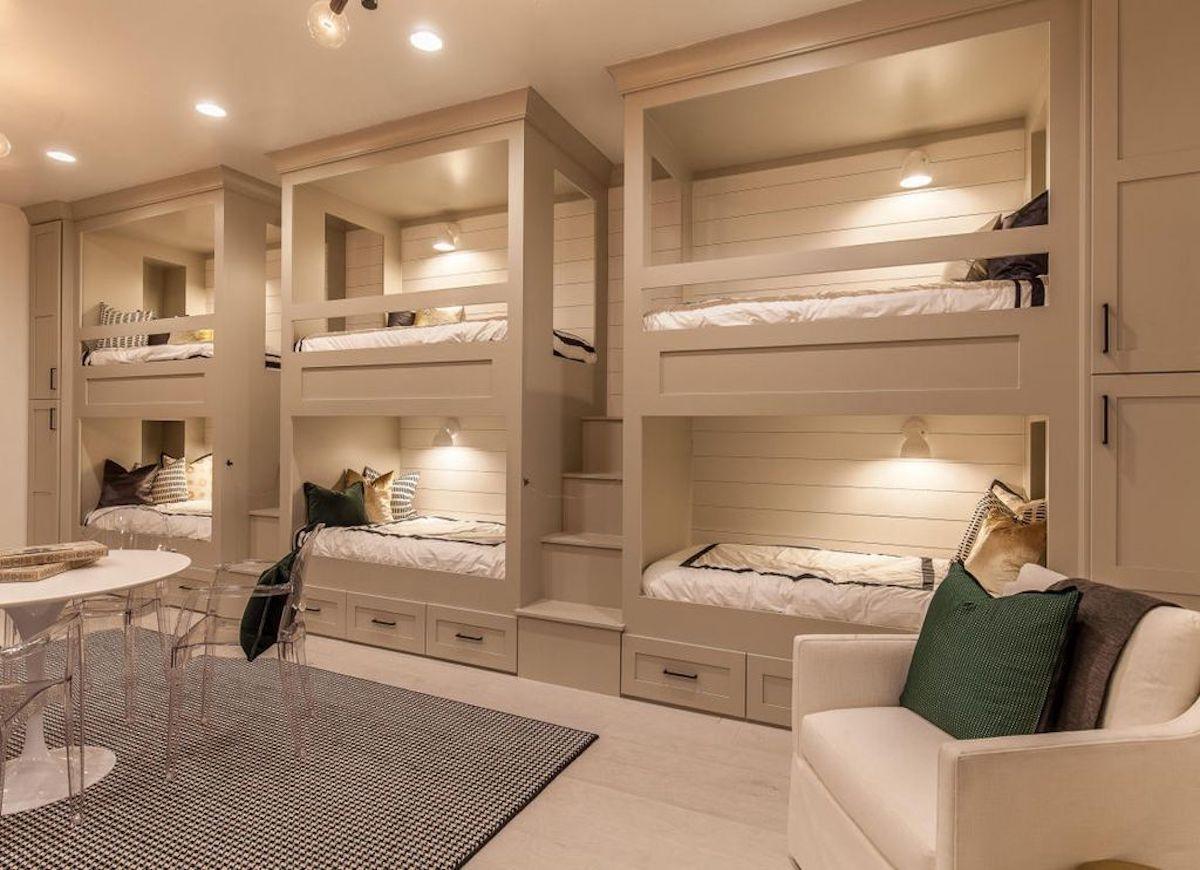 Best 19 Rooms That Prove Beige Isn't Boring Bunk Bed Rooms 640 x 480