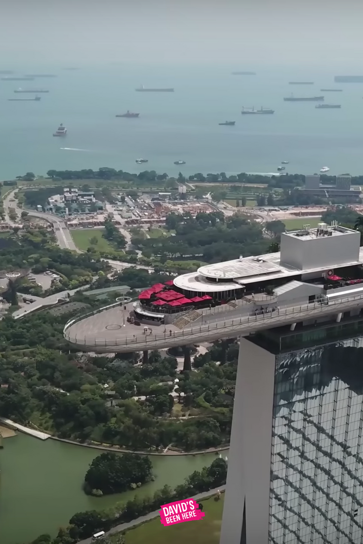 Singapore 4K Aerial Drone Footage  Beautiful sights of