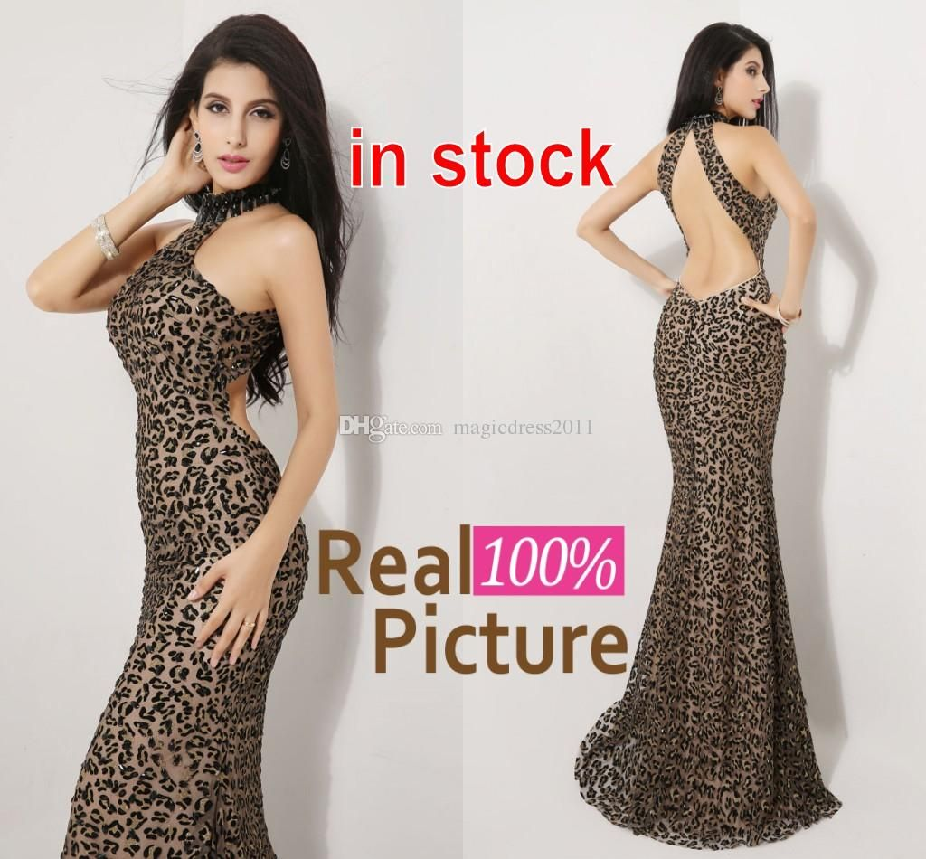 56d7e9a201 Cheap jewelry discount sexy leopard print formal evening gowns with  backless in stock mermaid jpg 1024x950