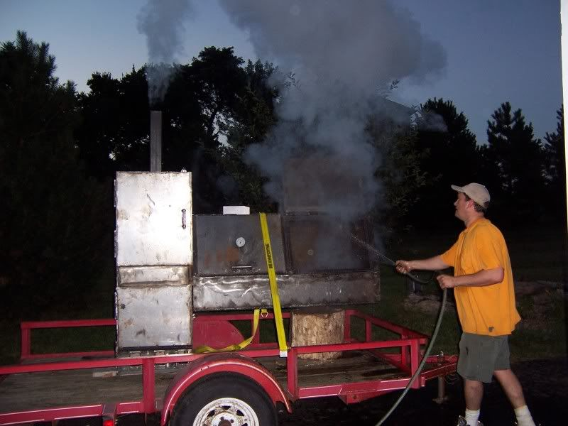 New Build Trailer mounted reverse flow smoker | Grillning