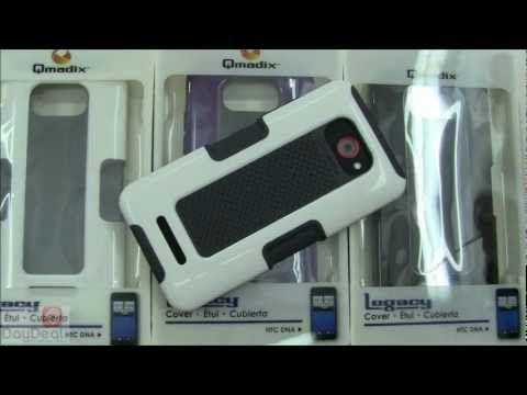 #HTC Droid DNA #Qmadix Legacy Case Review @DayDeal_com