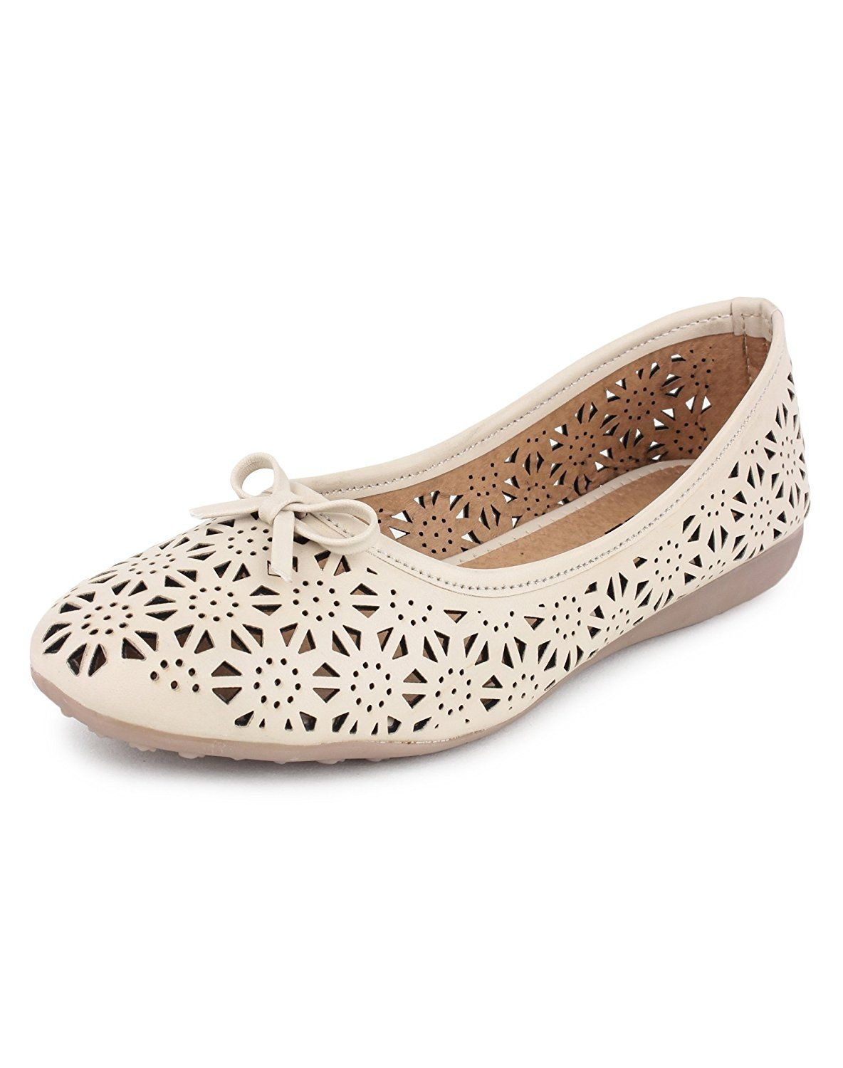 f989e0aa4be Yahe Women's Casual Napa Leather Flat Belly Shoe Y-38: Amazon.in: Shoes &  Handbags