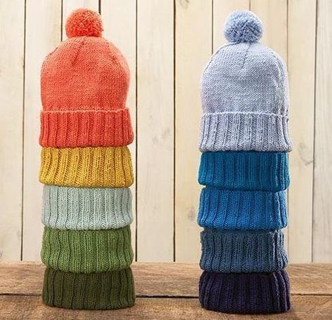 Everyday Knit Hat Pattern | Knitting, Knitted hats ...
