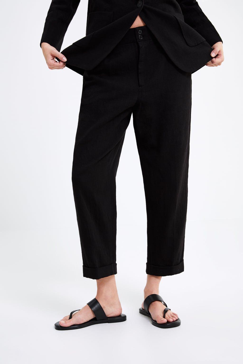 755b9b787a Pantaloni orlo con risvolto nel 2019   ° Wardrobe °   Pantaloni ...