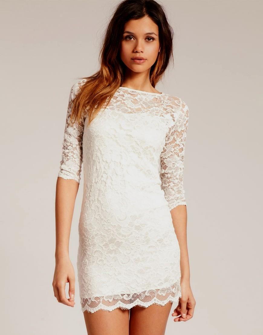 Lace dress bodycon  ASOS  ASOS Low Back Mini Lace Bodycon Dress  Bodycon Dresses