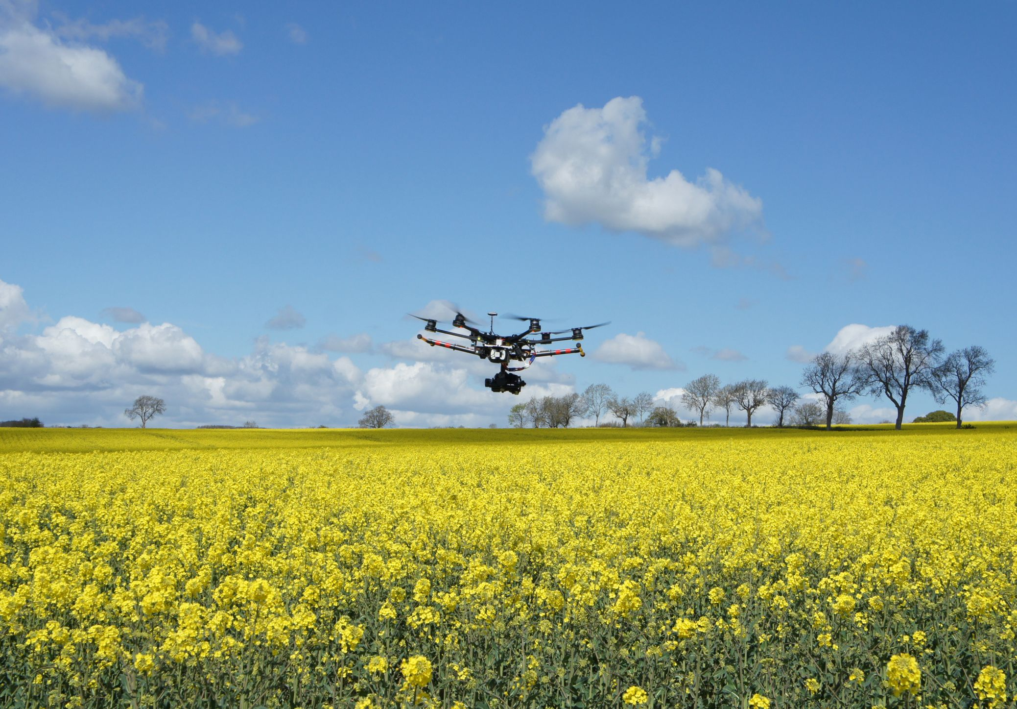 Drones and other unmanned flying machines are going green.