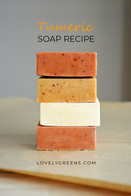 How to naturally color soap with Turmeric | Soap recipes | Soap ...