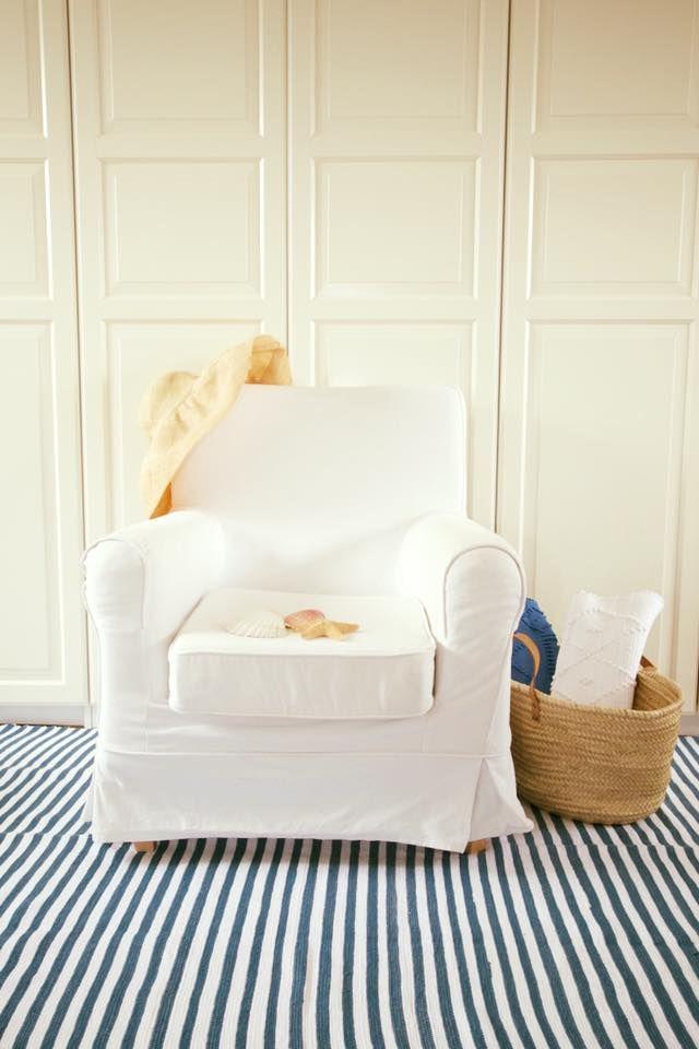 Blauw-Wit katoenen vloerkleed   Vloerkleed/ Rugs/Carpets   Pinterest ...