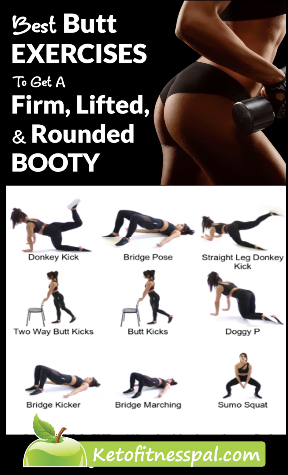 The Best Exercises for a Firm, Toned, Lifted Butt