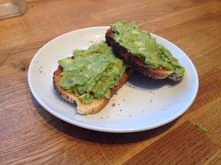 Diary of a Sauce Pot: Rachael's Recipes - Avocado on Toast