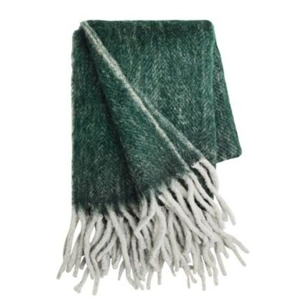 Cosy Forest Green Mohair Throw 40 Liked On Polyvore Featuring Inspiration Forest Green Throw Blanket