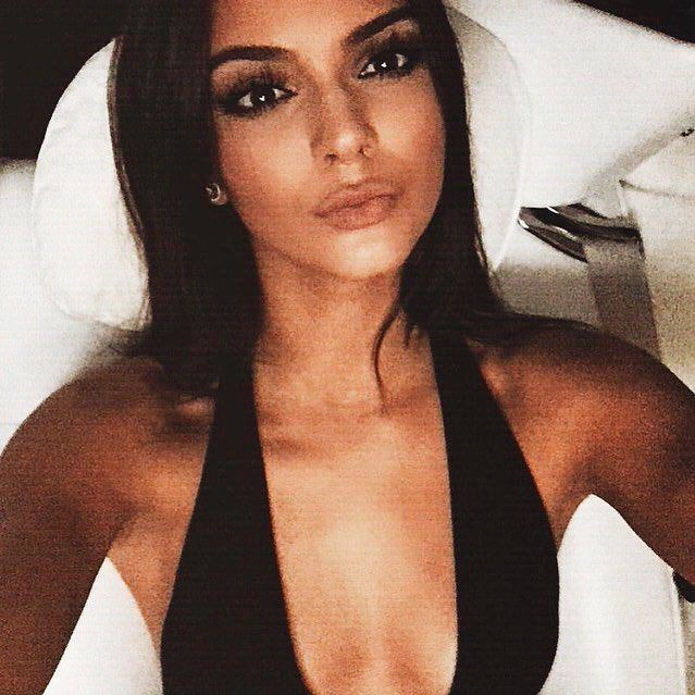 "So I guess the proverb ""No day without Kardashians"" is getting a motto of my life. welcome Kendall to #VSFS2015 #KendallJenner"