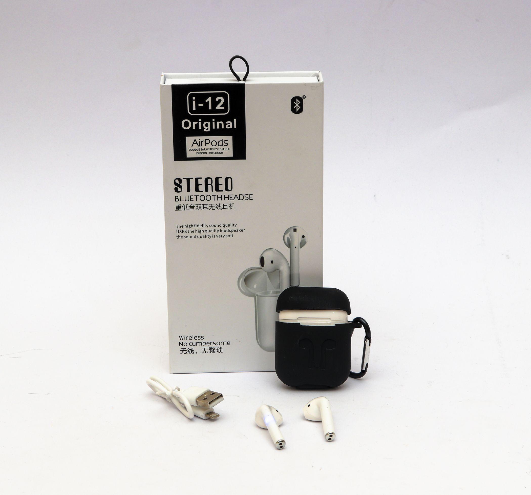 Airpods I12 Original White بسعر 370ج بدل من 450ج Phone Accessories Usb Flash Drive Flash Drive