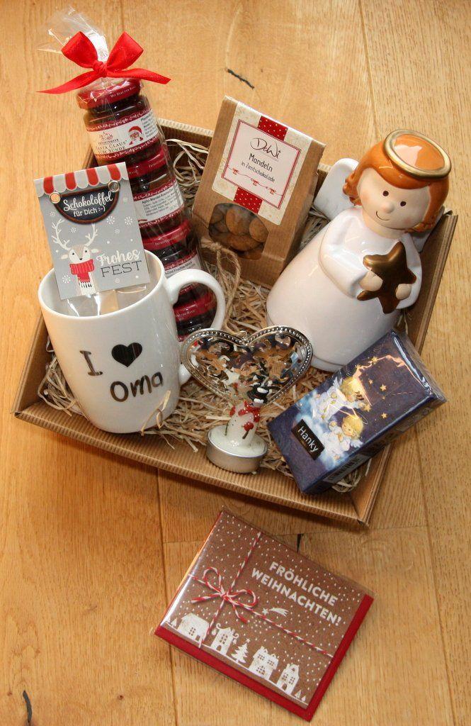 Oma Weihnachtsgeschenke Geschenkkorb
