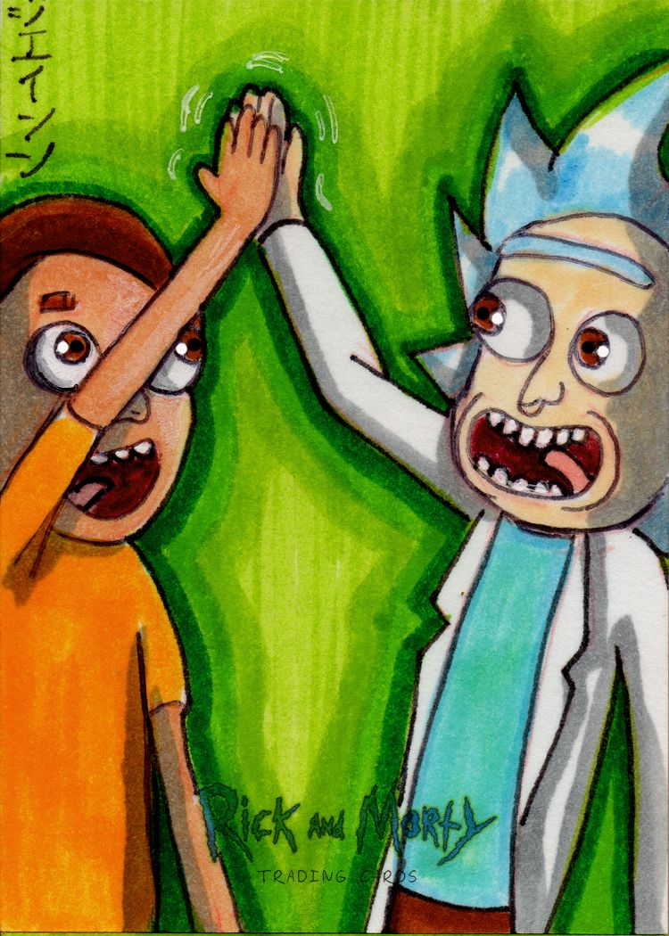 Artist Proof # 5 from Rick and Morty Season 2! by RazeComix