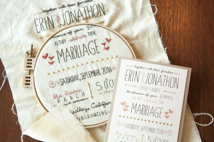 Wedding Philippines 16 Enchanting Embroidered Invitations 1