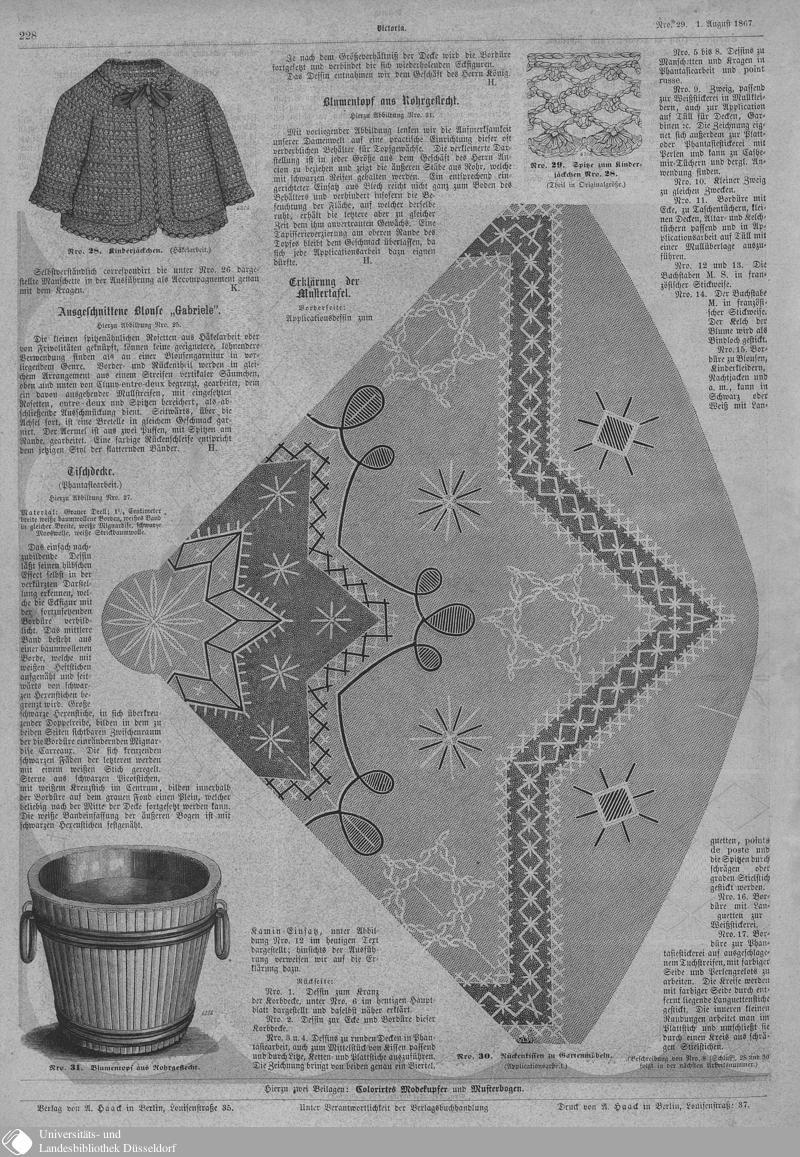 112 [228] - Nro. 29. 1. August - Victoria - Seite - Digitale Sammlungen - Digitale Sammlungen