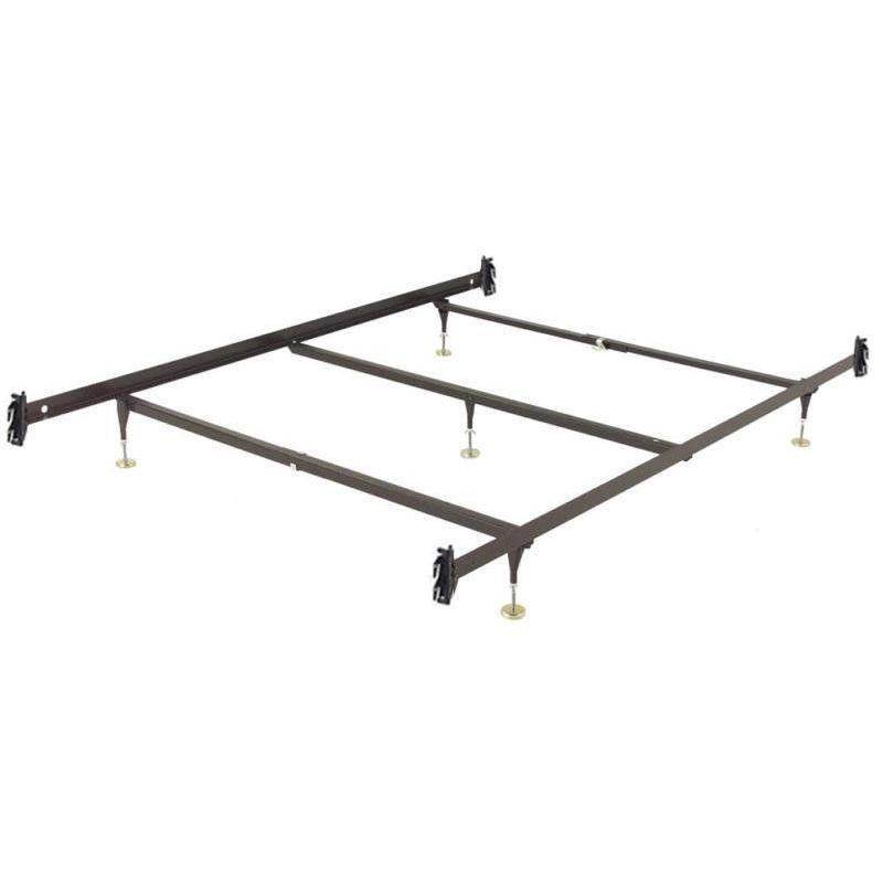 This King Size Metal Bed Frame With Hook On Headboard Footboard