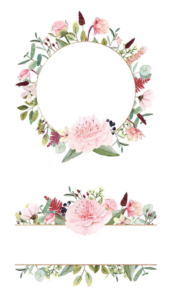 Cliparts haute qualit de pivoine eucalyptus baies for Couronne de fleurs