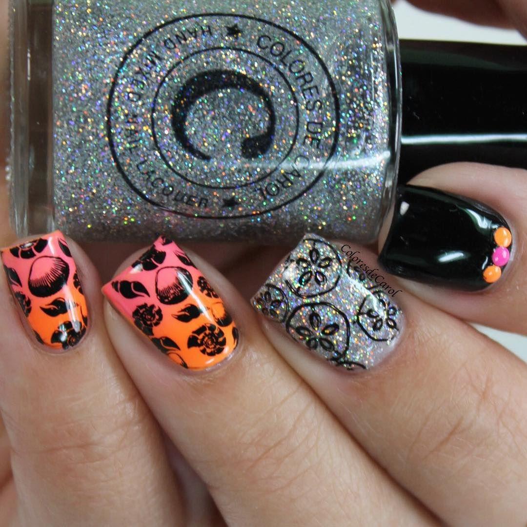 "Carolina On Instagram: ""#notd These Were The Nails I Wore"