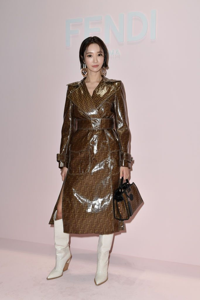 3c8a010db5e Go Joon- hee attends the Fendi show during Milan Fashion Week... in ...