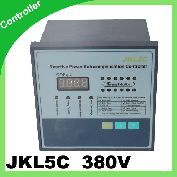 Jkl5c Power Factor Regulator Compensation Controller For Power Factor Capacitor 12step 380v Prcf Electrical Equipment Capacitor Power