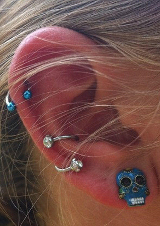 conch piercing smycke