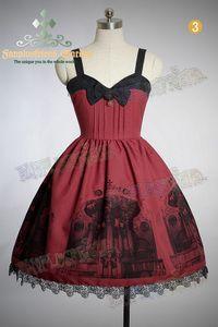 "†FanPlusFriend†ゴシックロリータGothic&Classical Lolita, ""Baroque Pipe Organ"" JSK/Dress..."