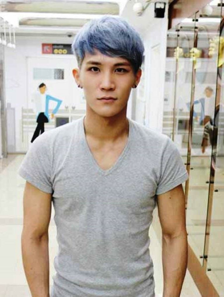 Short Length Blue Gray Hair 2015 Mens Haircuts 2014 Mens