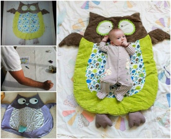 How To Make Owl Floor Mat That Your Baby Will Love