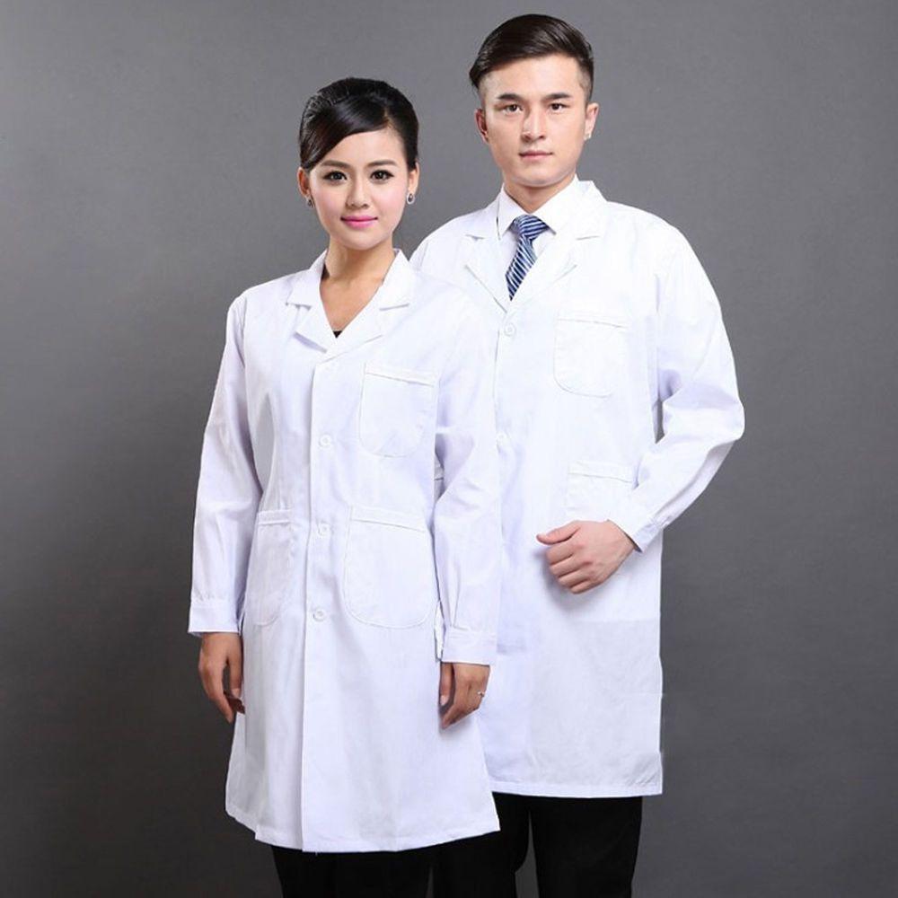 c3f67c2004f S-3XL Unisex White Medical Nurse Doctor Long Lab Coats Working Clothing  Uniforms (eBay Link)