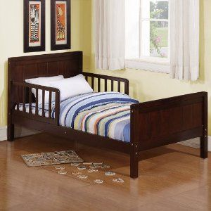 Dorel Asia WM3239E Toddler Bed, Espressso by Dorel Asia. $97.04.  Recommended for children at least 15 months old and no more than 50 lbs.