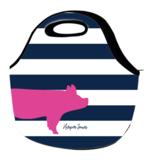 Bold Stripes Livestock Lunch Bag
