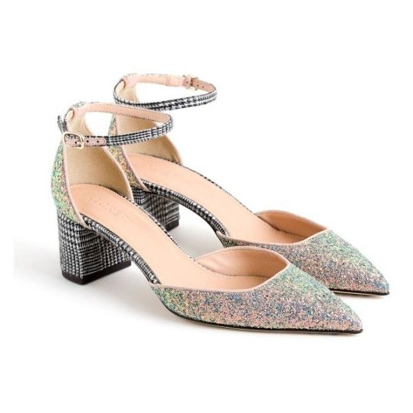e6cd703752f Women s J. Crew Elwood Glitter Pump (3.201.810 IDR) ❤ liked on Polyvore  featuring shoes