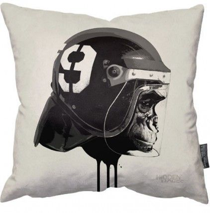 Limited Edition Ape Riot Pillow by Hidden Moves