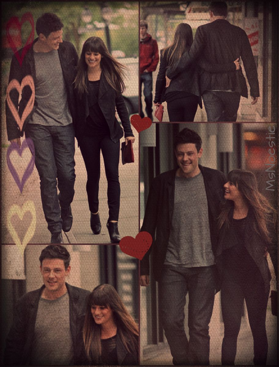 Cory and Lea in vancouver | Glee, Hollywood, Lea