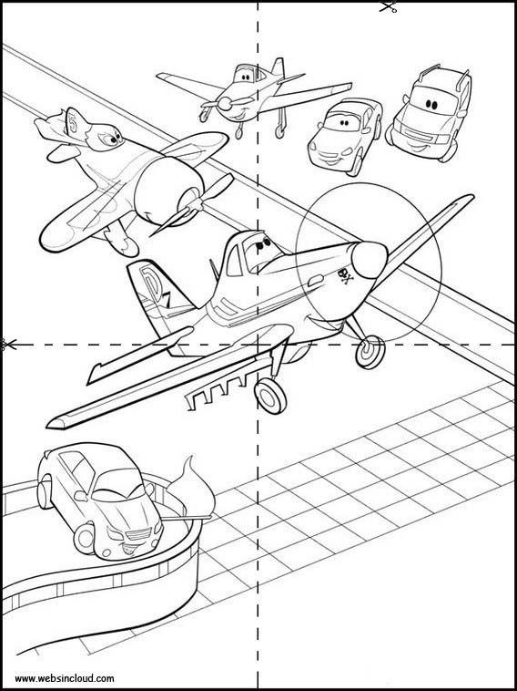 Puzzles Rompecabezas para imprimir para niños Aviones 28   colorbook ...