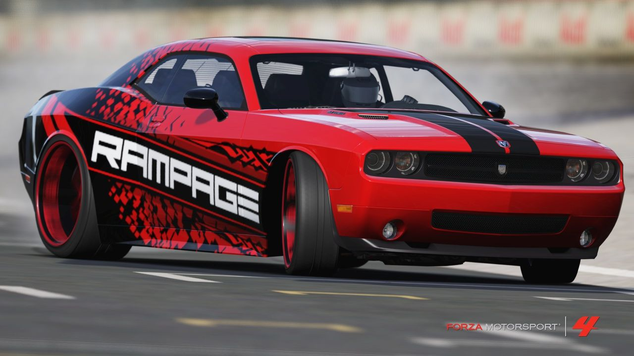 Dodge challenger rampage forzamotorsport 4 by on deviantart