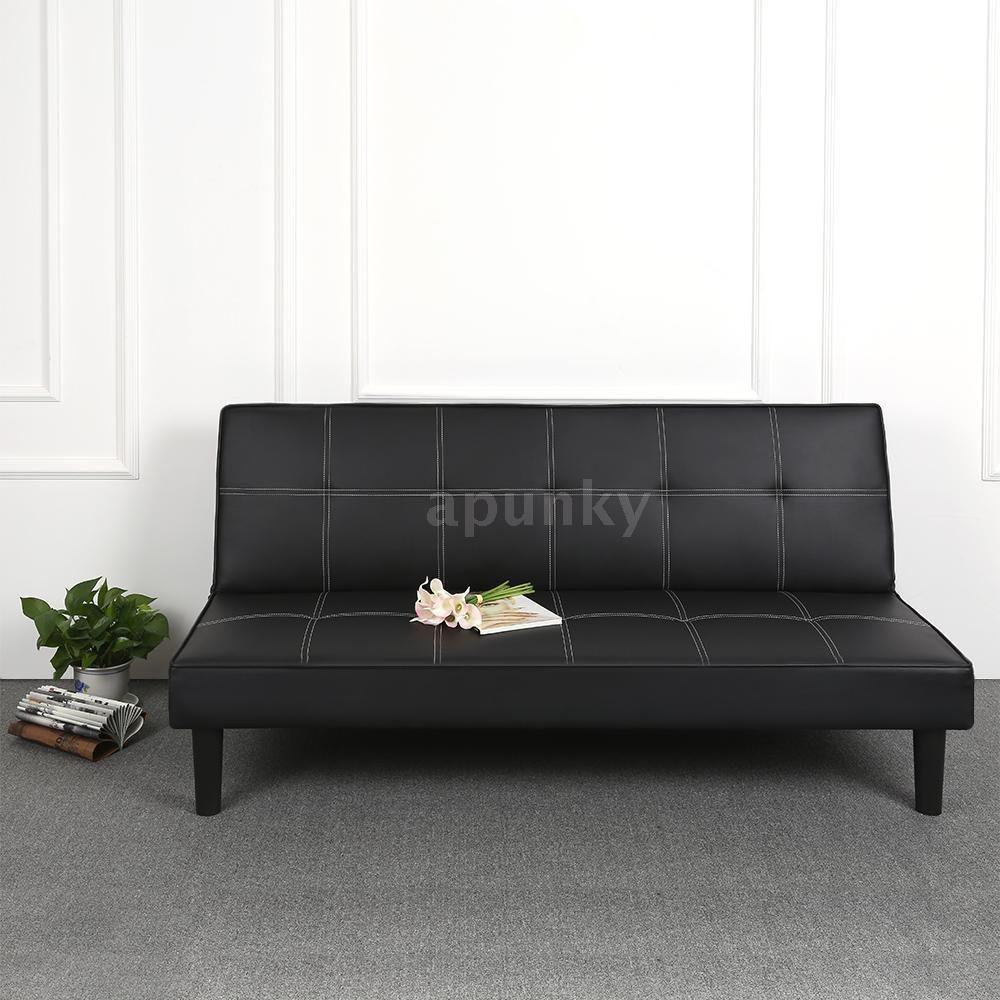 Wunderschön 3 Er Sofa Ideen Von 3er-sofa Faux Leather Couch Schlafsofa Gästebett Bettsofa