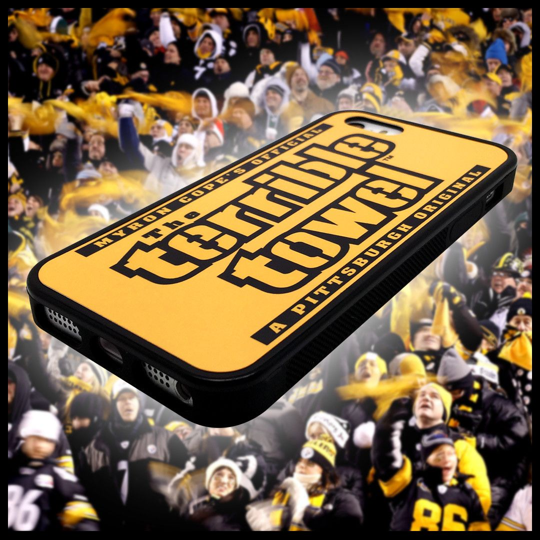 Gatorade Super Bowl Towel: Terrible Towel Pittsburgh Steelers Phone Case