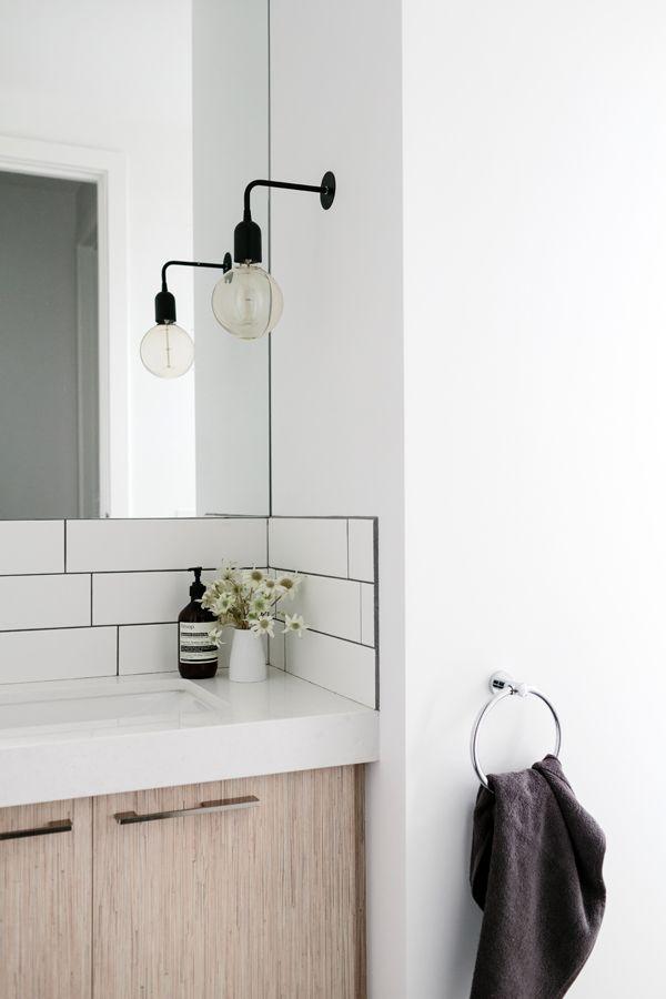 Caesarstone Surface Simple Bathroom Designs Bathroom Lighting