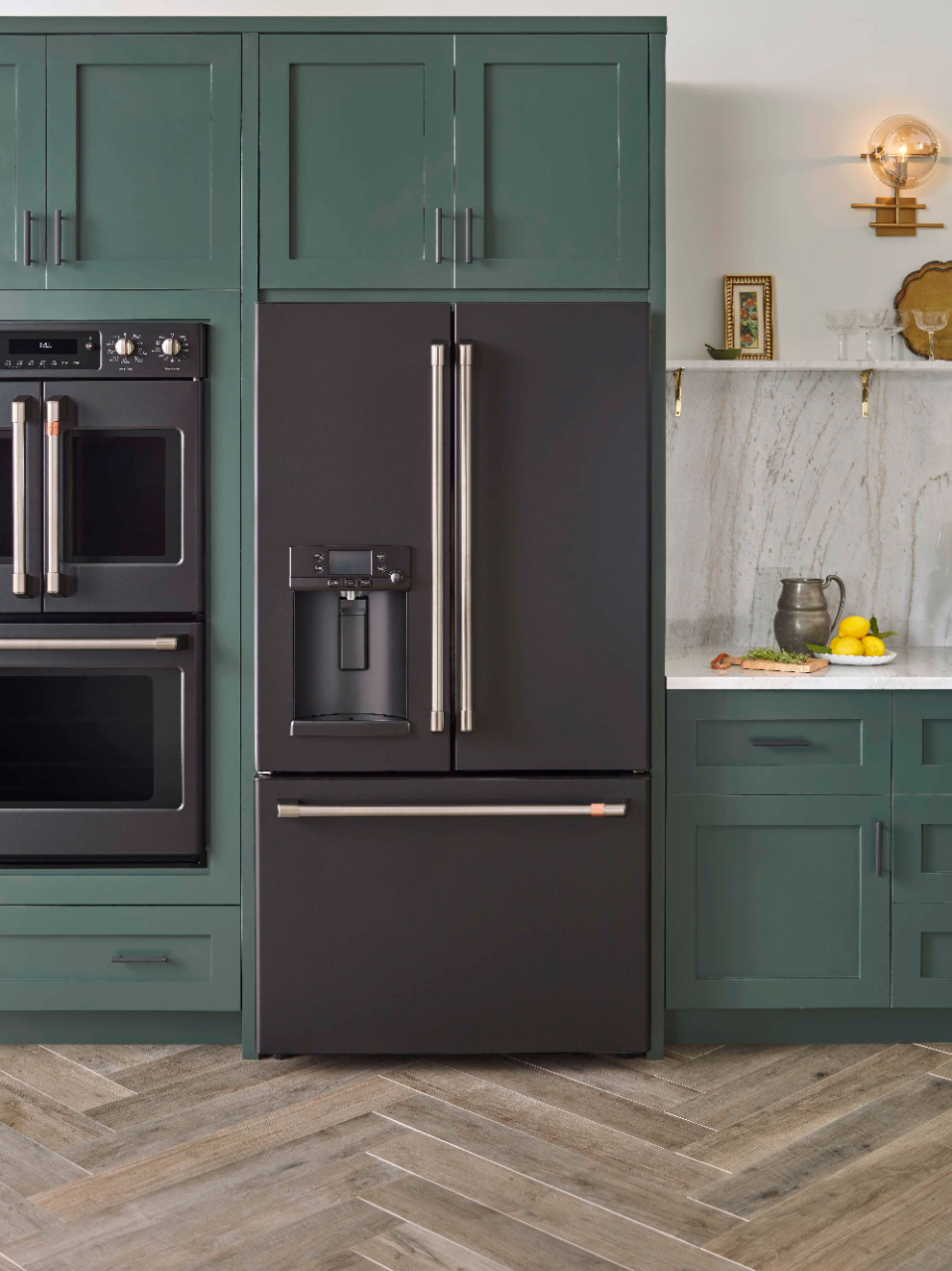 Cafe Matte Collection By Ge From Best Buy A More Beautiful Kitchen Kitchen Appliance Trends Green Kitchen Designs Kitchen Trends